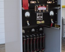 Rectifier-and-distribution-panel